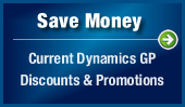 Save Money: Current Dynamics GP Discounts & Promotions