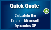 Quick Quote: Calculate the Cost of Microsoft Dynamics GP