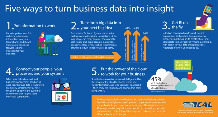 Five Ways to Turn Business Data Into Insight