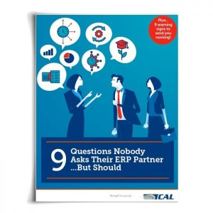 9 Questions Nobody Asks Their ERP Partner...But Should