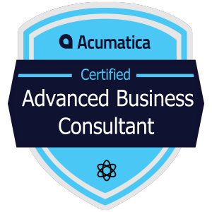 Acumatica Certified Advanced Business Consultant