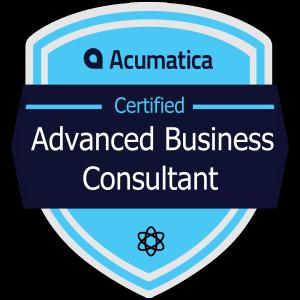 Acumatica Certified Advanced Business Consultant