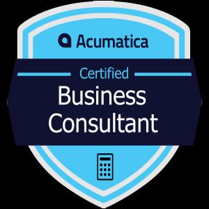 Acumatica Certified Business Consultant