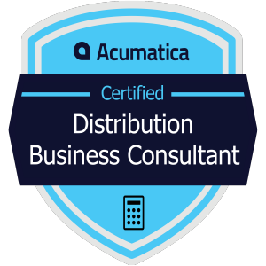 Acumatica Certified Distribution Business Consultant