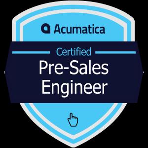 Acumatica Certified Pre-Sales Engineer