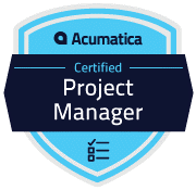 Acumatica Certified Project Manager