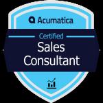 Acumatica Certified Sales Consultant