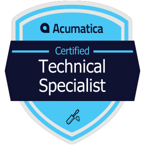 Acumatica Certified Technical Specialist