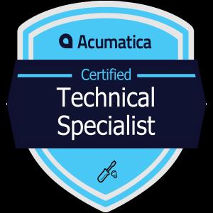 Acumatica Certified Technical Specialist