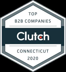 clutch.com top erp partner badge
