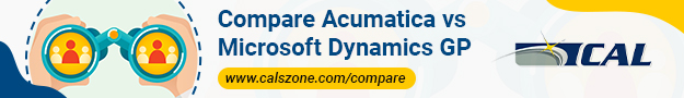 Compare Acumatica versus Dynamics GP