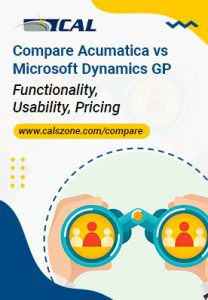 Compare Dynamics GP and Acumatica