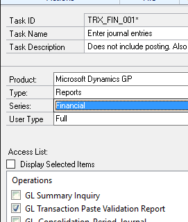 Copy Paste GL From Excel 2