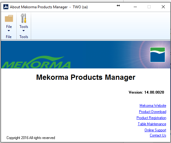 Create Mekorma MICR Tables-2