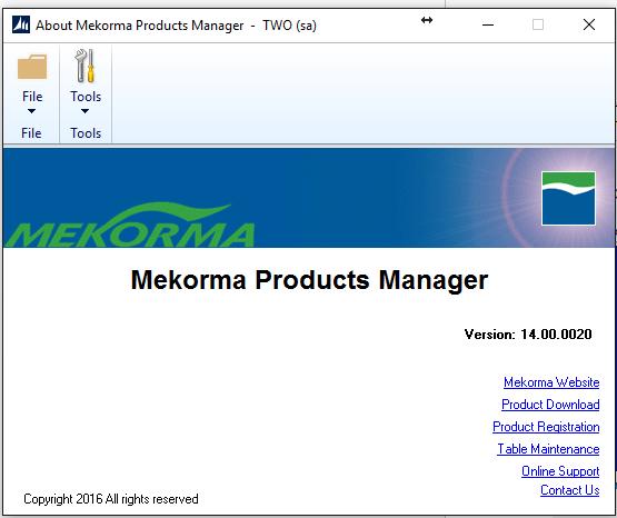 Create Mekorma MICR Tables-2
