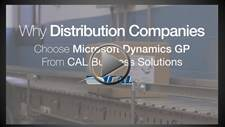 Why Distributions Companies Choose CAL