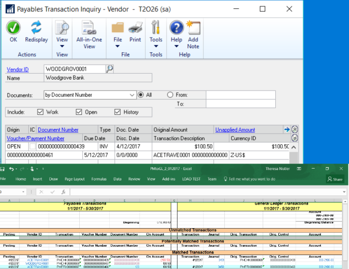 Dynamics GP 2016 R2 Feature of the Day-Link Credit Card Invoices to Original Invoice