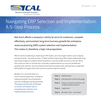ERP Selection and Implementation Guide