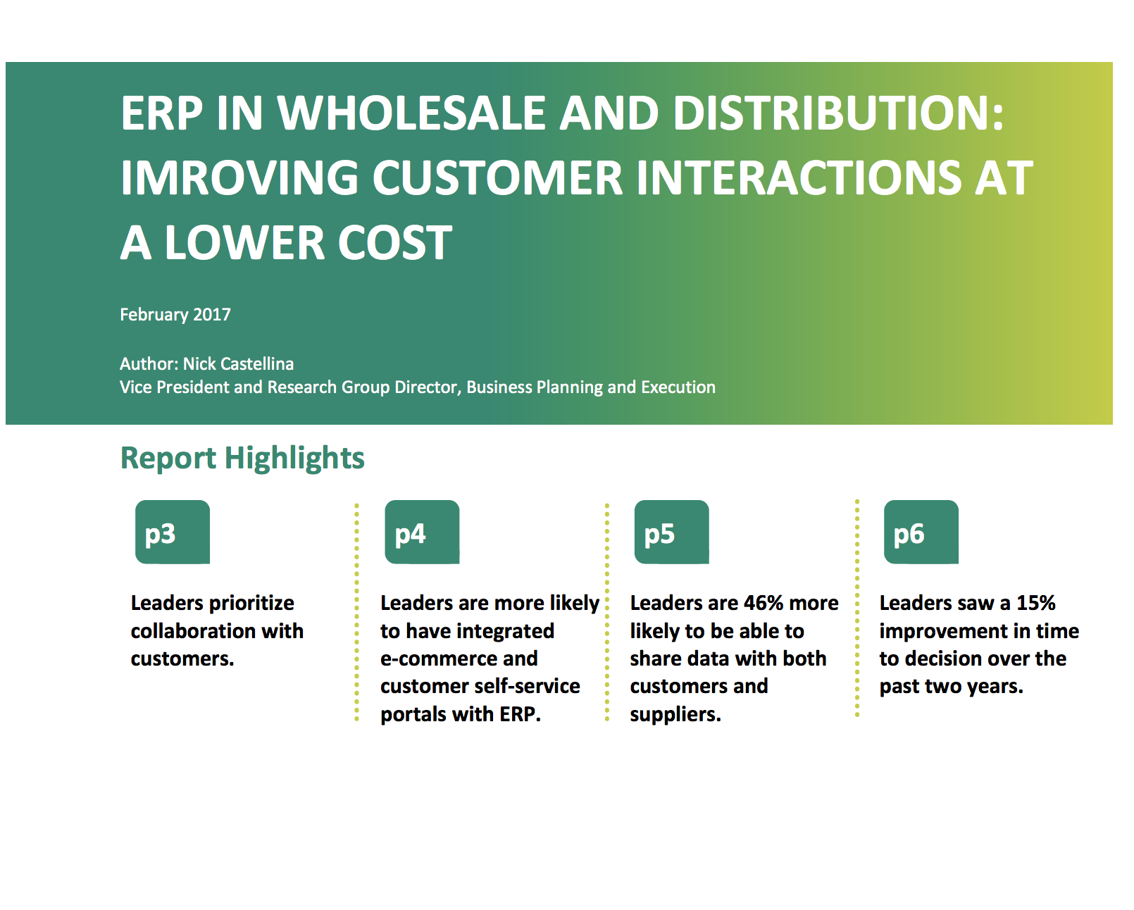 ERP in Wholesale and Distribution