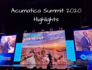 Acumatica Summit 2020 Highlights