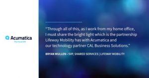Acumatica Lifeway Mobility