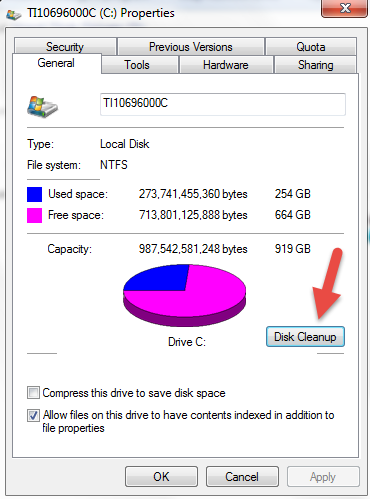 how to do disk cleanup to make computer run faster microsoft dynamics gp community. Black Bedroom Furniture Sets. Home Design Ideas