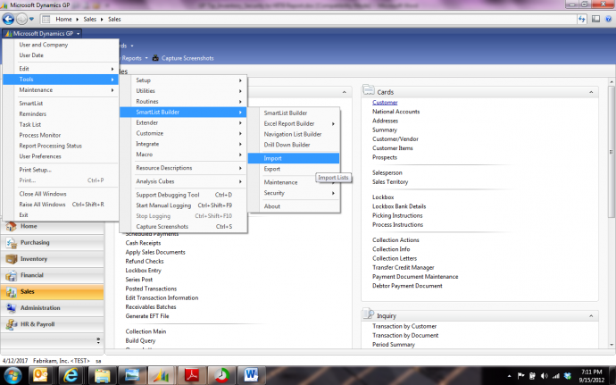 Importing SmartList Builder Templates and Granting Security-06